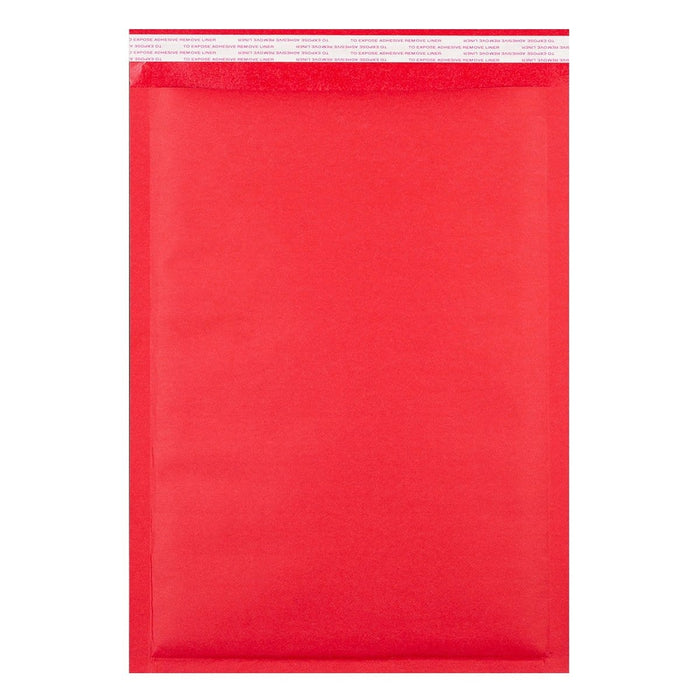 C3 Matt Red Padded (Paper Finish) Bubble Envelopes [Qty 50] 320 x 450mm (2131285737561)