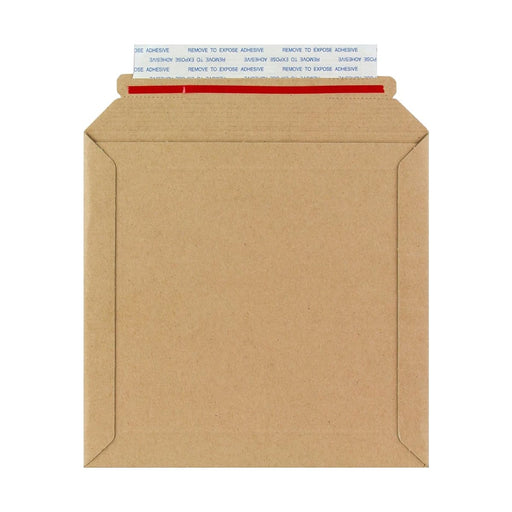 180 x 180 Rigid Cardboard Envelopes [Qty 100]