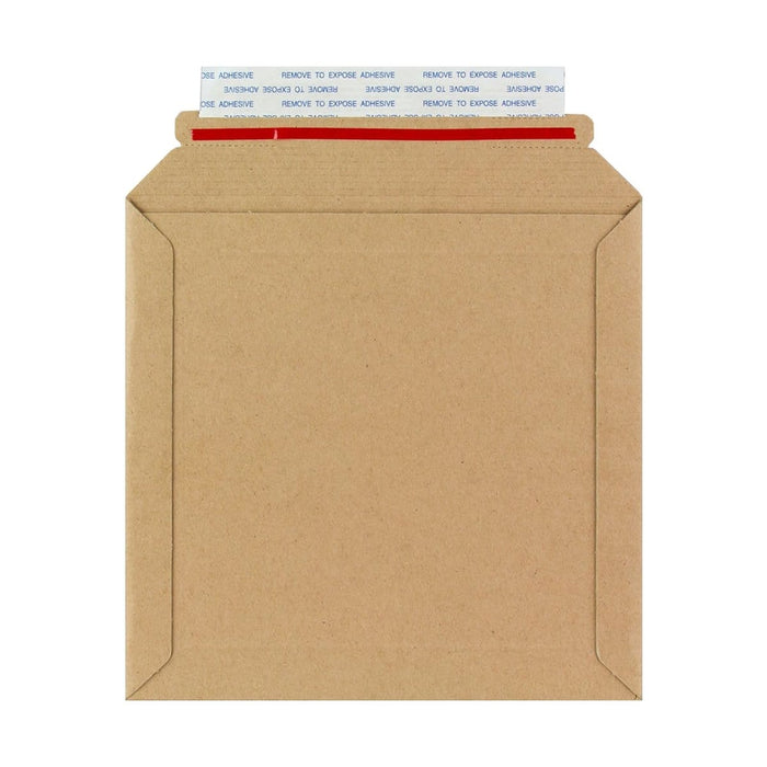 180 x 180 Rigid Cardboard Envelopes [Qty 100] (2131397640281)