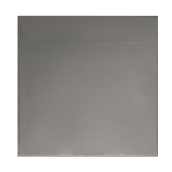 160 x 160 Metallic Silver 130gsm Peel & Seal Envelopes [Qty 500] (2131297173593)