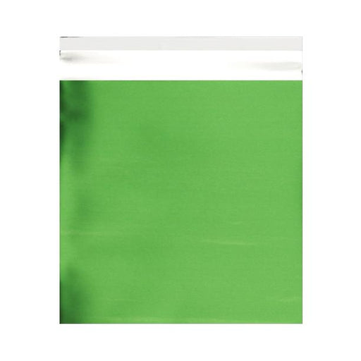 165 x 165 Matt Green Foil Bags [Qty 250] (2131332038745)