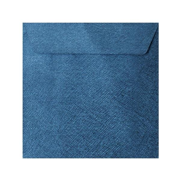 155 x 155 Royal Blue Textured 120gsm Peel & Seal Envelopes [Qty 250] (2131075858521)