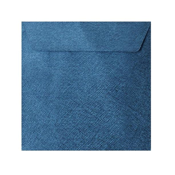 130 x 130 Royal Blue Textured 120gsm Peel & Seal Envelopes [Qty 250] (2131073761369)