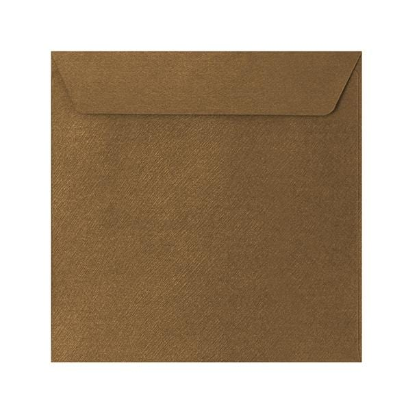 155 x 155 Bronze Textured 120gsm Peel & Seal Envelopes [Qty 250] (2131074187353)