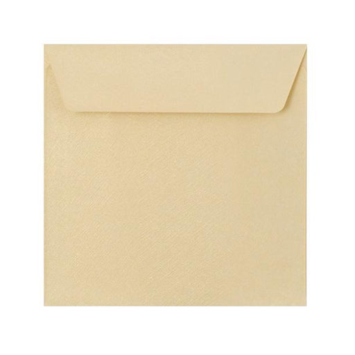 155 x 155 Champagne Textured 120gsm Peel & Seal Envelopes [Qty 250] (2131074285657)