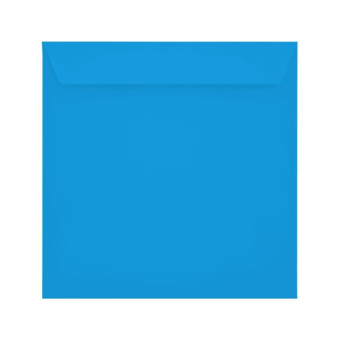220 x 220 Deep Blue 120gsm Peel & Seal Envelopes [Qty 250]