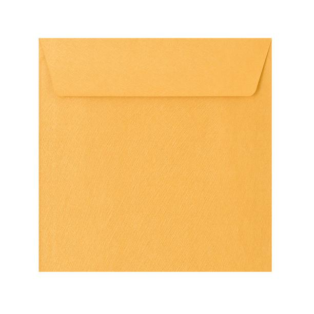 155 x 155 Gold Textured 120gsm Peel & Seal Envelopes [Qty 250] (2131074515033)