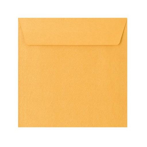 130 x 130 Gold Textured 120gsm Peel & Seal Envelopes [Qty 250]