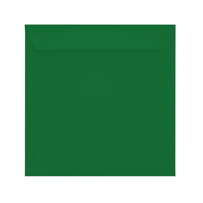 220 x 220 Holly Green 120gsm Peel & Seal Envelopes [Qty 250]
