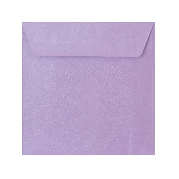 130 x 130 Lilac Textured 120gsm Peel & Seal Envelopes [Qty 250] (2131073335385)