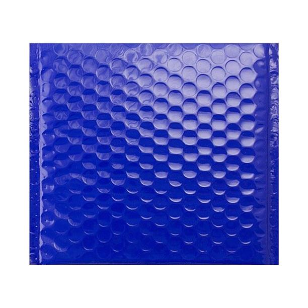 165 x 165 Gloss Blue Padded Bubble Envelopes [Qty 100] (2131230720089)