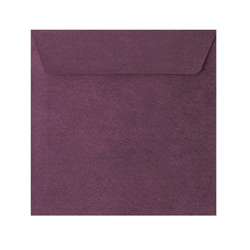 155 x 155 Purple Textured 120gsm Peel & Seal Envelopes [Qty 250]