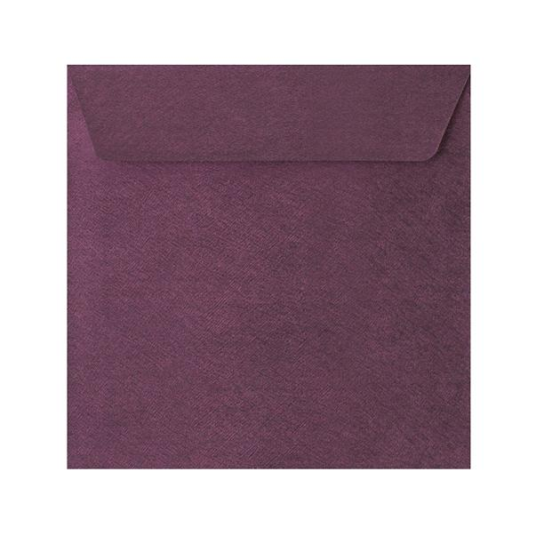 130 x 130 Purple Textured 120gsm Peel & Seal Envelopes [Qty 250]