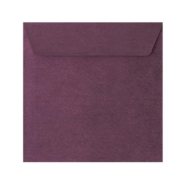 130 x 130 Purple Textured 120gsm Peel & Seal Envelopes [Qty 250] (2131073433689)