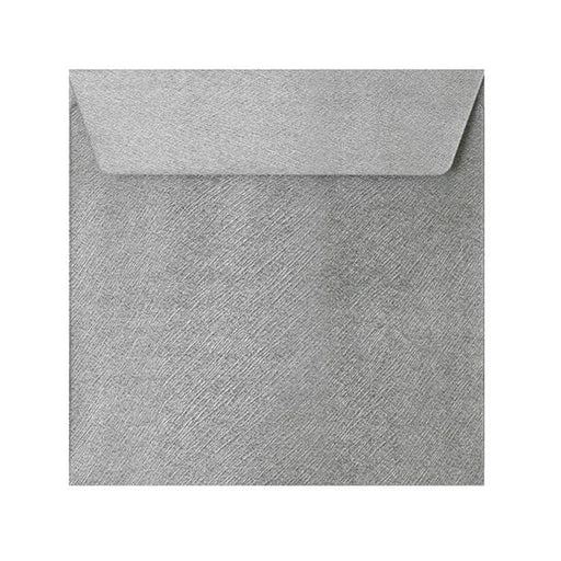 130 x 130 Silver Textured 120gsm Peel & Seal Envelopes [Qty 250]
