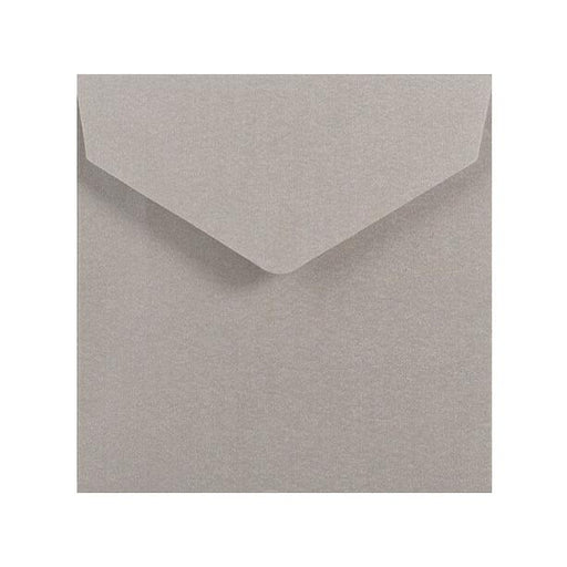 155 x 155 Metallic Silver V Flap Envelopes [Qty 250]