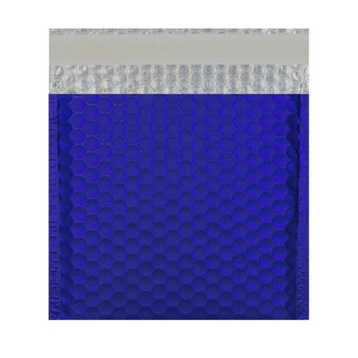165 x 165 Matt Dark Blue Padded Bubble Envelopes [Qty 100]
