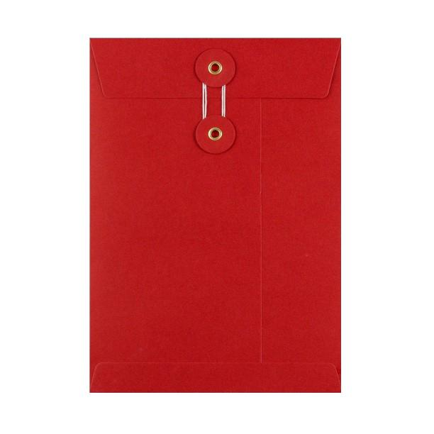 C5 Red String & Washer Envelopes [Qty 100] 229 x 162mm (2131293372505)
