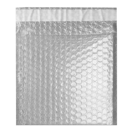 165 x 165 Translucent Metallic Padded Bubble Envelopes [Qty 100] (2131352649817)