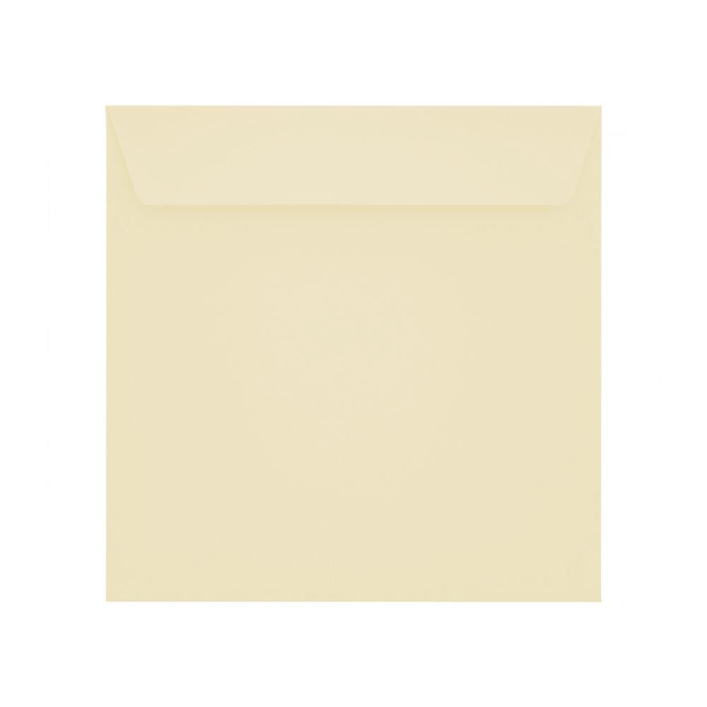 160 x 160 Vanilla Cream 120gsm Peel & Seal Envelopes [Qty 500] (2131251626073)