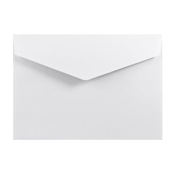 White Business Card Envelopes 120gsm Peel & Seal [Qty 250] 62 x 94mm
