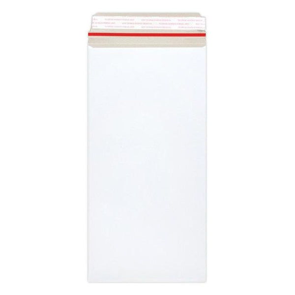 170 x 440 White 350gsm Board Peel & Seal Envelopes [Qty 100]