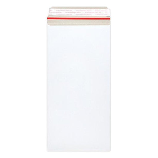 152 x 305 White 350gsm Board Peel & Seal Envelopes [Qty 100]