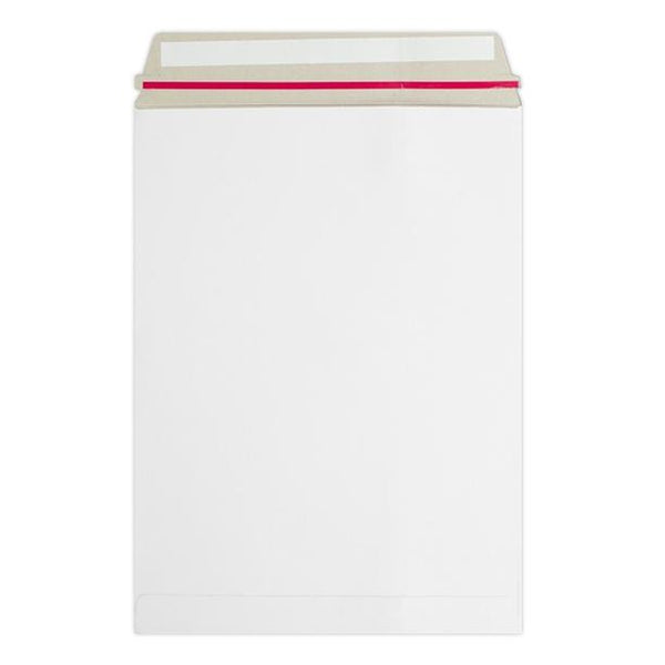 C6 White 350gsm Board Peel & Seal Envelopes [Qty 200] 162 x 114mm