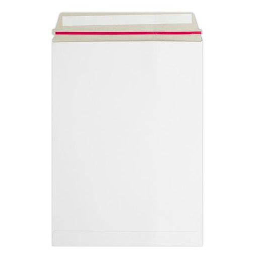 C4 White 350gsm Board Peel & Seal Envelopes [Qty 100] 229 x 324mm