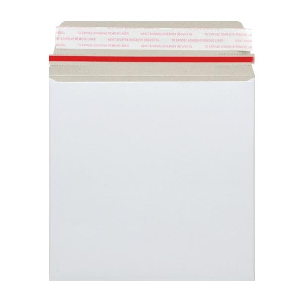 140 x 140 White 350gsm Board Peel & Seal Envelopes [Qty 200]