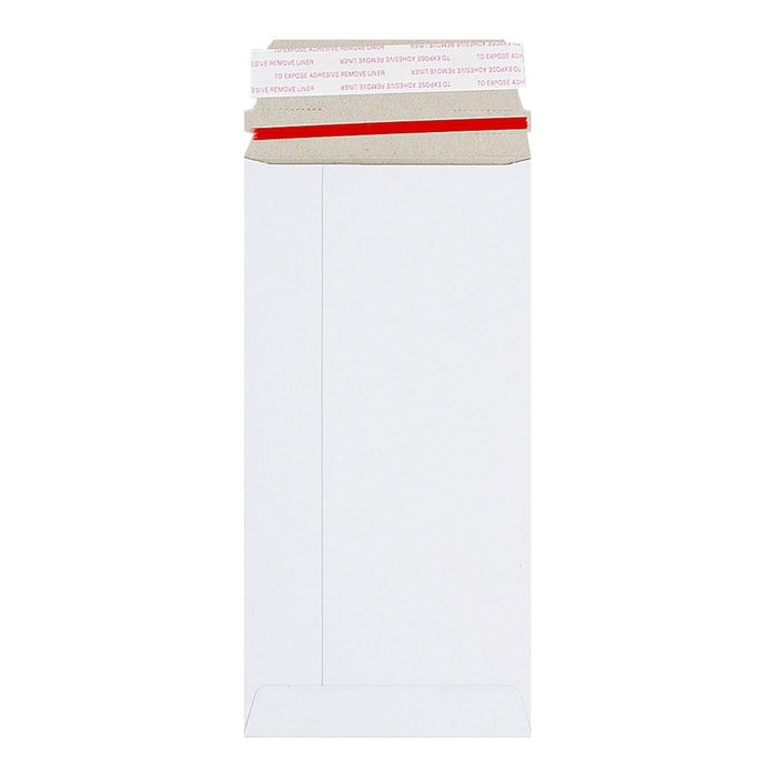 DL White 350gsm Board Peel & Seal Envelopes [Qty 100] 110mm x 220mm (2131354288217)
