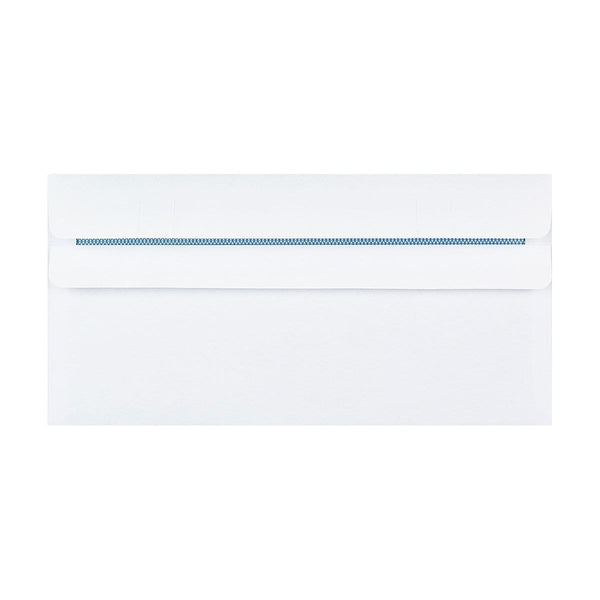 DL+ White 90gsm Self-Seal Envelopes [Qty 1,000] 114 x 229mm (2131429228633)