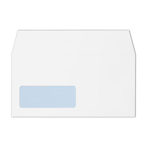 110 x 220 DL White 100gsm Window Peel & Seal Wallet (Qty 500)