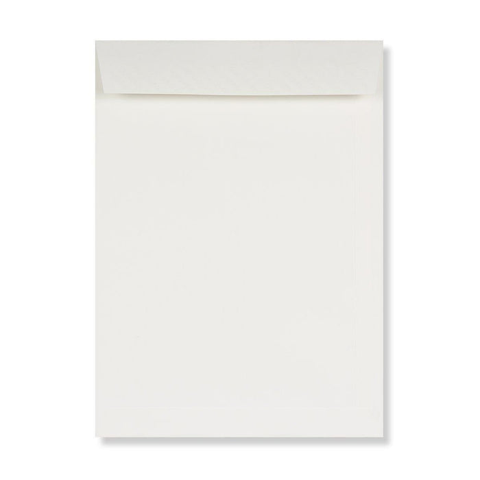 C4 Conqueror Brilliant White 120gsm Laid Peel & Seal Pocket Envelopes [Qty 250] 324 x 229mm (4165889687641)
