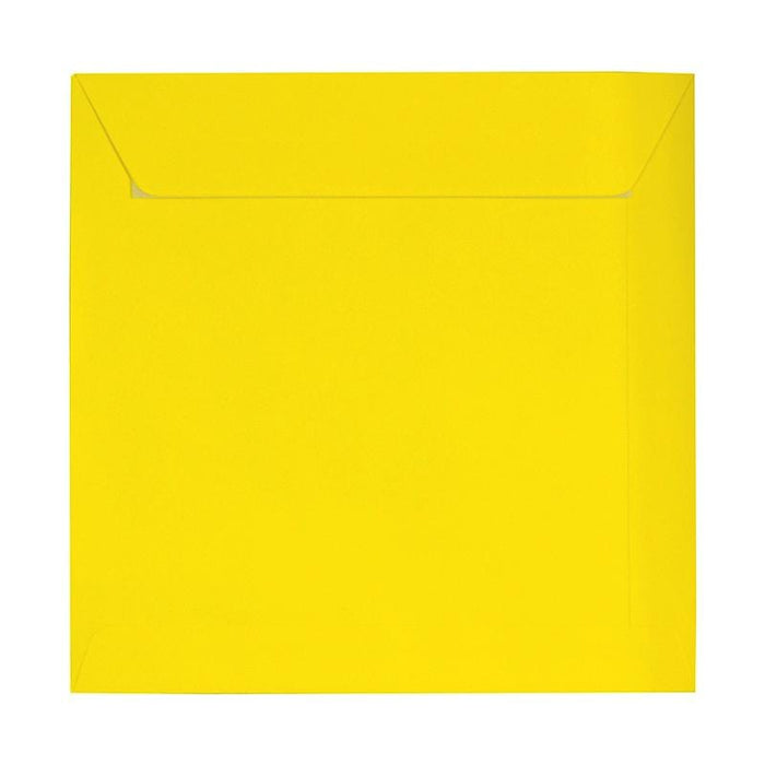 230 x 230 Square Yellow Peel & Seal Envelopes [Qty 250]