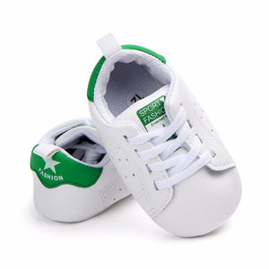 Baby Boys Sports Sneaker Shoes Green / 13-18 Months Mollycoddle Me Baby Boy Shoes mollycoddle-me.myshopify.com Mollycoddle Me