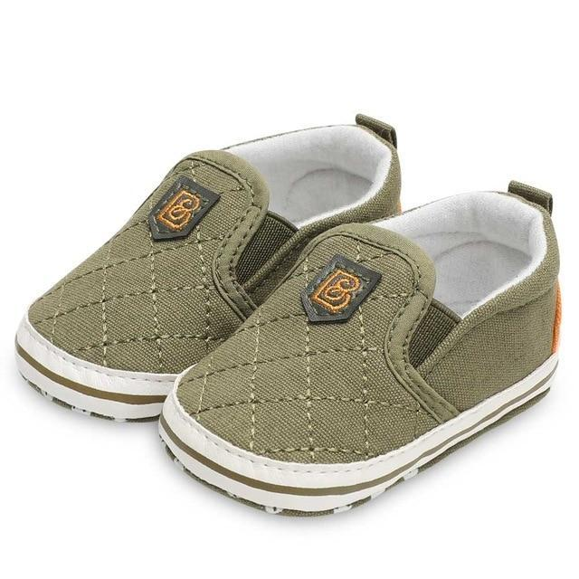 Baby boy Moccasins Slip-On Shoes Green / 13-18 Months Mollycoddle Me Baby Boy Shoes mollycoddle-me.myshopify.com Mollycoddle Me