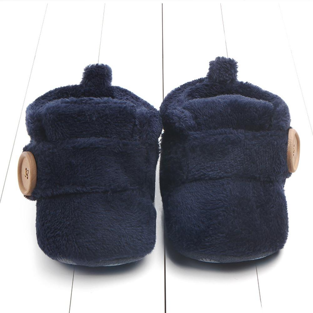 Soft Hook-loop Winter Walkers Shoes  Mollycoddle Me Unisex Accessories mollycoddle-me.myshopify.com Mollycoddle Me