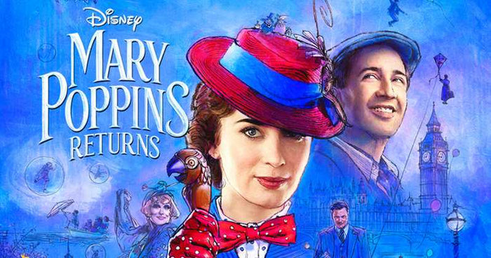 "Disney's ""Mary Poppins Returns"" Releases Official Trailer"
