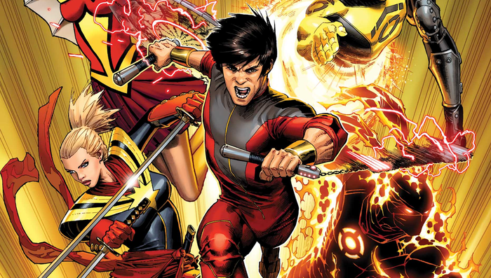 Shang-Chi Comic Book Cover