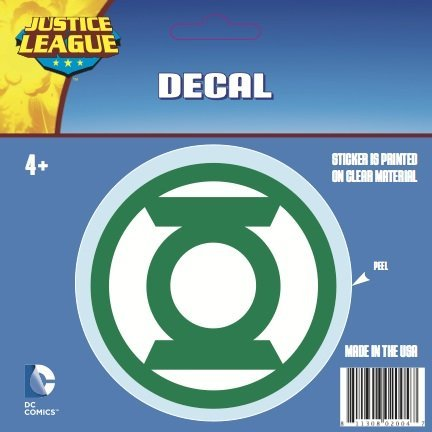 Green Lantern Symbol Standard Logo Car Window Sticker Decal