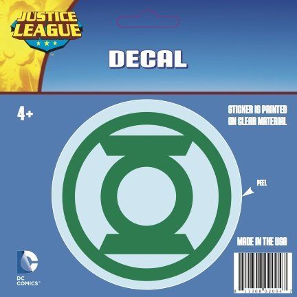Green Lantern Symbol Green Logo Car Window Sticker Decal