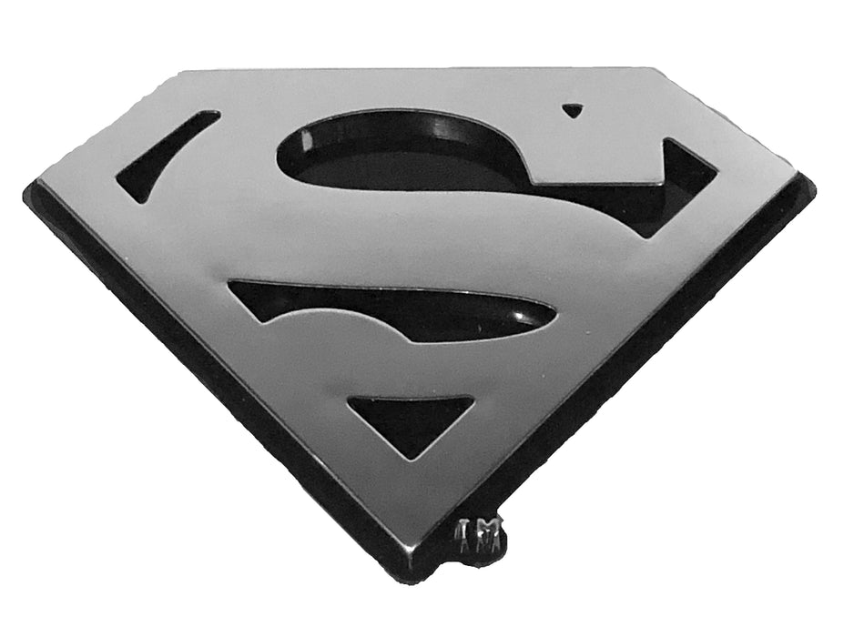 Superman Logo Chrome Plastic Decal