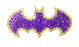 Crystal Studded DC Comics Batgirl Logo Decal - SMALL