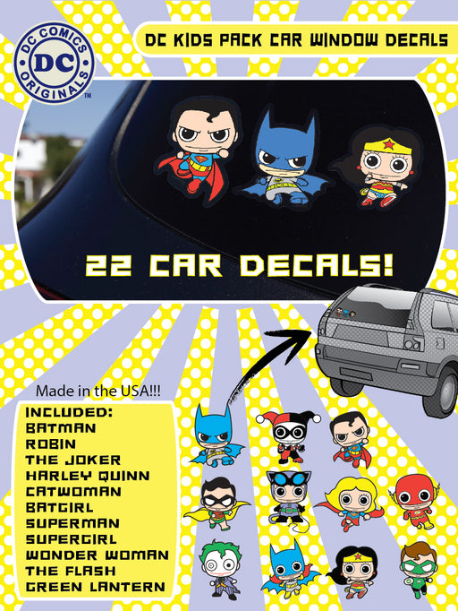 DC FAMILY KIDS PACK