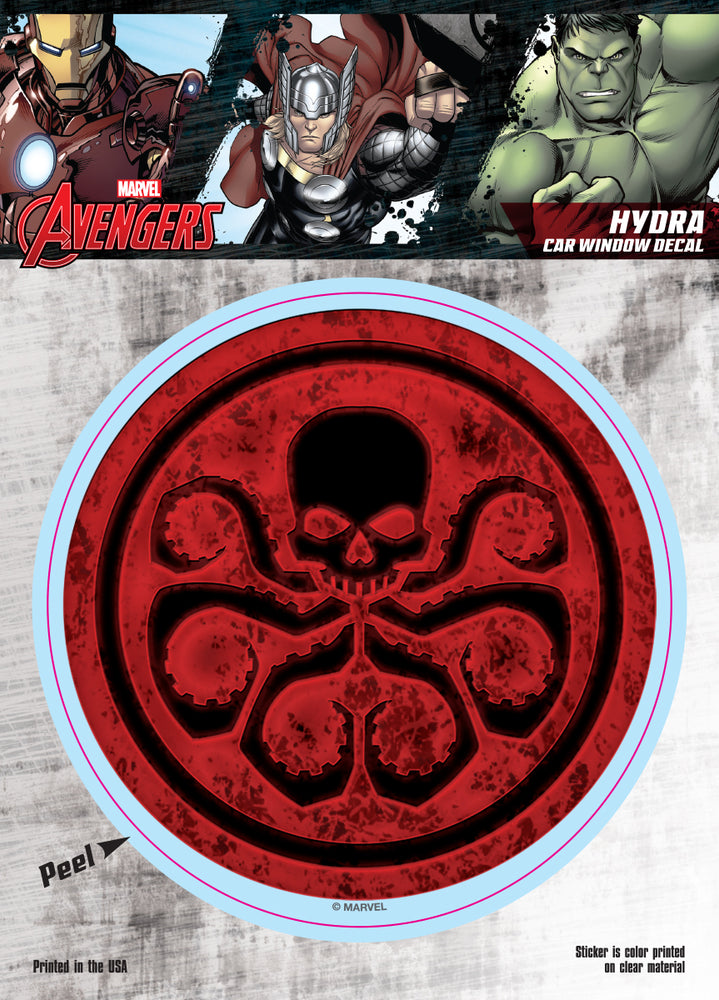 Hydra Logo Car Window Decal 6x8