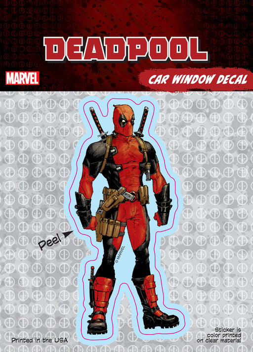 Deadpool Standard Car Window Decal 6x8