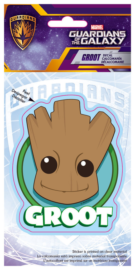 Groot Cute Head Logo Car 4x8 Decal