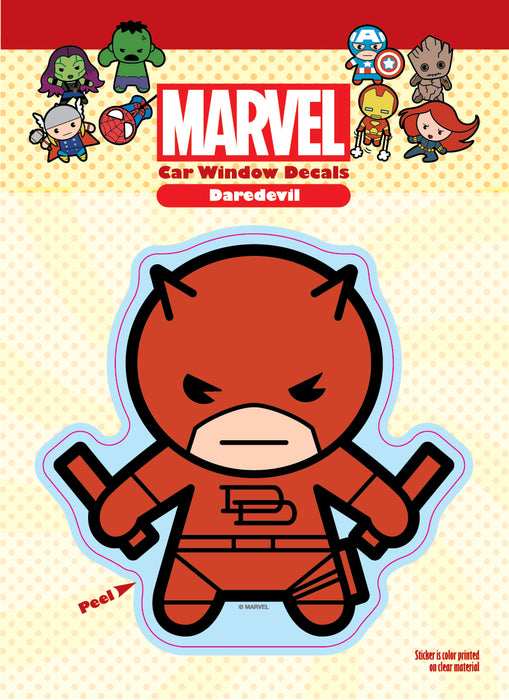 Daredevil Kawaii Single Car Window Decal