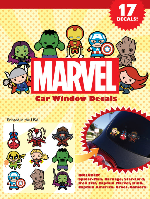 Kawaii Car Window Decal Pack 2